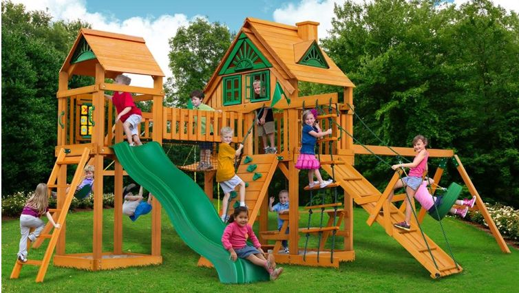 Playground Slides for outdoor fun